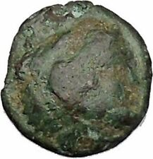 THASOS an ISLAND off THRACE 350BC Hercules Bow Club Ancient Greek Coin i47855