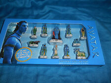 JAMES CAMERON'S AVATAR Set of 11 Mini Porcelain Figures in Case French FEVES '09