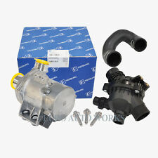BMW Engine Cooling Water Pump Electric W/ Bolts + Thermostat  + Hose 925/476/049