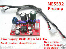 DC/AC 12v~15v PHILPS NE5532 Audio OP AMP Microphone Preamps Pre-Amplifier Board