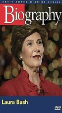 LAURA BUSH BIOGRAPHY A&E Presidential First Lady White House History DVD