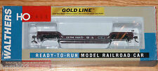WALTHERS 932-7886 GOLD LINE 90 TON GSC DEPRESSED CENTER FLAT CAR CONRAIL 766022