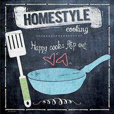 CUISINE ART PRINT Homestyle Cooking Happy Cooks Flip Out Jo Moulton