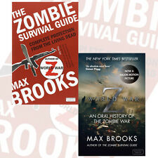 Max Brooks Collection 2 Books Set (World War Z,The Zombie Survival Guide) , UK