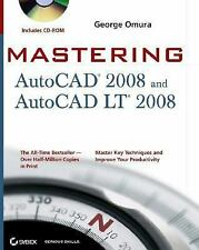 Mastering AutoCAD 2008 and AutoCAD LT 2008 (Mastering)