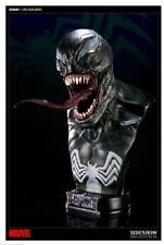 SIDESHOW Venom spiderman life-size bust rare excellent,never displayed,fr JAPAN