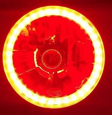 Red Halo Headlight Chevrolet C5 C10 C20 C30 Blazer K5 K10 K20 K30 Pickup 4x4 454