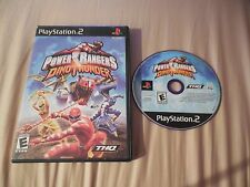 POWER RANGERS DINO THUNDER --- PLAYSTATION 2 PS2 NO MANUAL