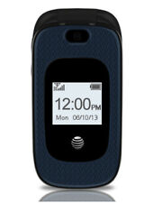 ZTE GoPhone Z222 - Black Blue (AT&T) Prepaid No Contract Cellular Phone NIP