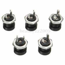 5x PCB 1.35mmx3.5mm Female Panel Mount DC Power Jack Socket Connector Adattatore