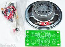 """MORSE CODE KEYER WITH 2.5"""" SPEAKER UN-Assembled Kit 9VDC For Education [FK938]"""