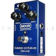 MXR M288 Bass Octave Deluxe by Dunlop Dual-Voice Guitar Effects Pedal - NEW