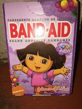 Dora The Explorer Bandages Band Aids 25 In Pack Kids nickelodeon