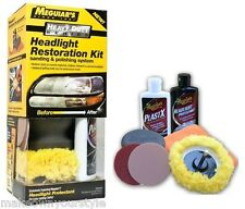 KIT RINNOVA FANALI 2 HEADLIGHT RESTORING KIT MEGUIAR'S G3000