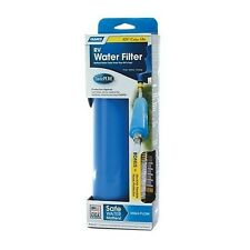 Camco RV Water Filter System Hose Protector Flexible Drinking Odor Carbon Whole