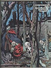 Cartoonists And Illustrators Portfolio Volume 2 1978 VF Berni Wrightson cover