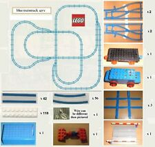 Large VINTAGE Lego train track. Suitable for 9V and 4.5V Battery train engines.