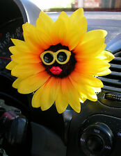 VW Beetle Flower - Sunflower with Yellow Sunglasses