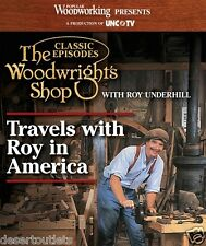 NEW! The Woodwright's Shop Travels with Roy in America [DVD]