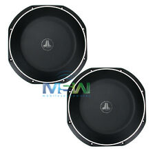"(2) JL AUDIO 10TW1-4 10"" TW1 THIN-LINE SHALLOW MOUNT CAR SUBWOOFERS SUBS *PAIR*"