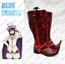 Ao no Blue Exorcist Mephisto Pheles Cosplay Shoes For Costume