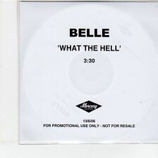 (EG142) Belle, What The Hell - 2006 DJ CD