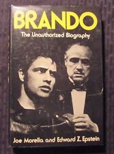 1973 BRANDO The Unauthorized Biography by Morella HC/DJ FVF/FN 1st Crown