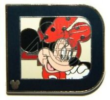 Disney Pin: WDW Hidden Mickey 2011 - Classic 'D' Part 1: Minnie