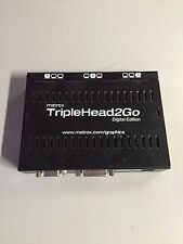 Matrox TripleHead2Go Digital Edition Graphics eXpansion Module (No Software CD)