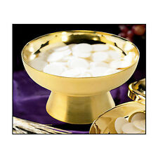 Stunning Ciborium - Made of 100% Food Safe Brass - Holds 500 Hosts