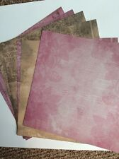 Craftwork Cards Papel Pack Shabby Vintage Rosa/Browns