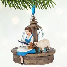 BNWT Disney Singing Belle Christmas Ornament