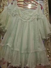 **US SELLER**LACE PRINCESS SNIDEL CUTE DRESS SHIBUYA HIME GYARU LIZ LISA JAPAN