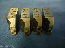 "GEOMETRIC DIEHEAD CHASERS 1/4"" NPT DIE HEAD CHASER FOR CNC LATHE MACHINE SHOP"