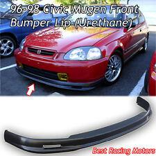 Mu-gen Style Front Lip (Urethane) Fits 96-98 Honda Civic 2dr