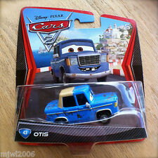 Disney PIXAR Cars 2 OTIS # 43 diecast rusty wreck towed to town friendly junker