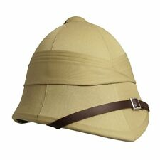 British Army Foreign Service Tropical Pith Helmet in Khaki