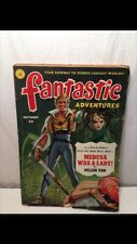 Vintage Fantastic Adventures Sci-fi Literary Magazine 1951 William Tenn Horror