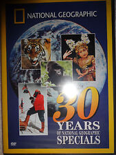 DVD National Geographic 30 Years of Specials New Sealed