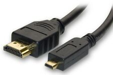 PANASONIC DMC-FT4,DMC-TS3 MICRO HDMI TO HDMI CABLE TO CONNECT TO TV HDTV 3D 4K