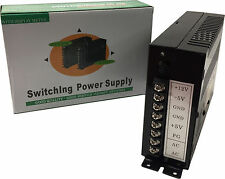 Universal Jamma Arcade Conmutación PSU fuente de alimentación de 15A - 110V/220V, +5V +12V