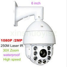 [1x] 2MP Full HD 36 x  zoom 1080P high Speed Dome IP PTZ Camera Outdoor IR 250M