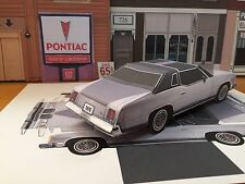 "Papercraft EZU-build 1976 Pontiac Grand Prix T-Top Toy Model ""Paper"" Car"