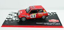 Talbot Samba Rally Gr. B Rallye Monte-Carlo 1984 # 49 Maßstab 1:43