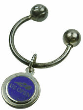 US OPEN Key Ring Tennis Ball Screwball w/USTA Disc Collectible - Sterling Silver
