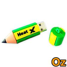 Pencil USB Stick, 32GB 3D Cartoon Quality Chip Flash Drives WeirdLand