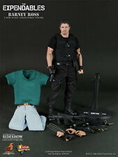 "BARNEY ROSS SYLVESTER STALLONE THE EXPENDABLES 12"" FIGUR HOT TOYS"