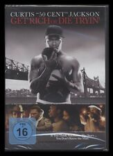 DVD GET RICH OR DIE TRYIN - CURTIS 50 CENT JACKSON - HIP-HOP-RAP - GANGSTER *NEU