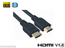 1FT HDMI to HDMI Gold Plated Cable HDTV PS3 Xbox 1080P Version 1.4
