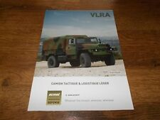 ACMAT VLRA Military Trucks Brochure Prospekt Catalogue